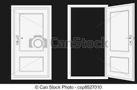 closed door drawing. Contemporary Door On Closed Door Drawing T