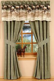 Horse Kitchen Curtains