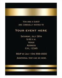 Formal Dinner Invitation Sample Formal Party Invitation Template