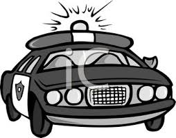 police car clipart black and white. Perfect White On Police Car Clipart Black And White L