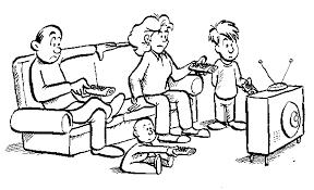 watching tv clipart black and white. brain tv cliparts; the watching clipart black and white t