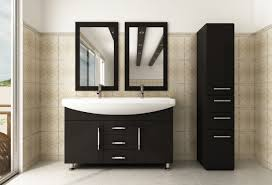 modern double sink bathroom vanities. Abaco Avola 48 Inch Double Bathroom Vanity Integrated Sink Top Modern Vanities