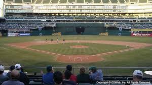 Oakland Coliseum Sections Oakland Coliseum Seating Chart