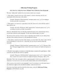 Apa In Text Citation 2 Sources Same Author Parenthetical