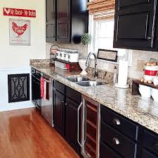painting kitchen cabinets black before and after. Beautiful Cabinets Black Milk Painted Kitchen Cabinets To Painting Before And After H