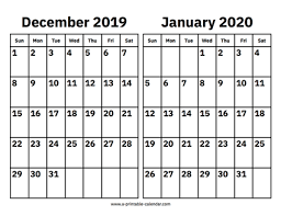 School Calendar Template 2020 17 Calendar 2019 January