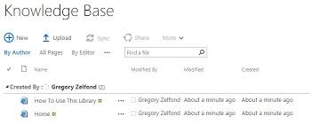 Sharepoint Knowledge Base Template 2013 3 Ways To Build A Knowledge Base Wiki In Sharepoint