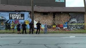 Ohio mural honoring George Floyd ...