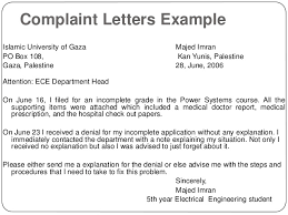 writing letters by ganta kishore kumar complaint letters example