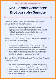 Creating an APA Format Annotated Bibliography   YouTube