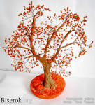 Как сделать осеннее дерево из проволоки