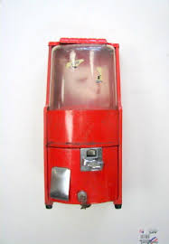 Northwestern Vending Machines For Sale Extraordinary VINTAGE RED ART DECO NORTHWESTERN MODEL PENNY GUMBALL VENDING
