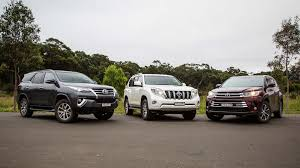 toyota prado 2018 new model. toyota suv comparison fortuner v kluger prado 2018 new model e