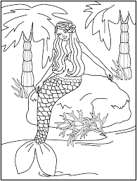 Small Picture H2O Mermaid Coloring Pages line drawings online H2O Mermaid