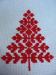 Cross Stitch Christmas Tree Cross Stitch Tree Cross