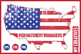 Download as svg vector, transparent png, eps or psd. 2 Fish Hatchery Managers Designs Graphics