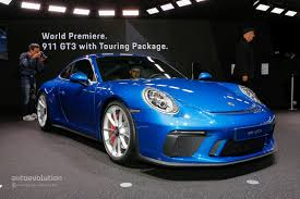 2018 porsche gt3 touring. delighful 2018 live photos new porsche 911 gt3 touring package to 2018 porsche gt3 touring w