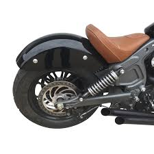 indian scout contour rear fender kit twisted choppers