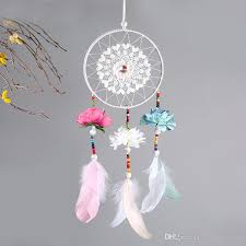 Who Sells Dream Catchers Inspiration Online Cheap 32 Wedding Decoration Handmade Dream Catcher Net With