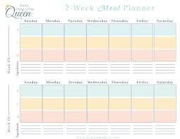 meal planner free easy meal plan structure with free printables fun cheap or free
