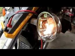 troubleshoot repair a motorcycle turn signal light