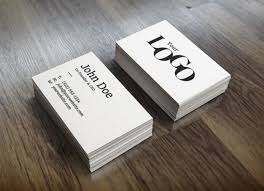 Download Cards Psd Free Business White Stack Mockup File