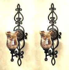 wall candle sconces wall mount
