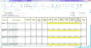 Project Estimate Template Excel Project Closure Document Template Unique Cost Breakdown
