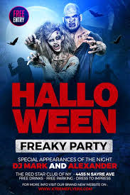 Costume Contest Flyer Template Halloween Party Event Free Flyer Template For Halloween Events