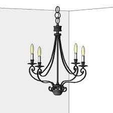 feiss chandeliers ceiling wall mounted table lamp 3d model