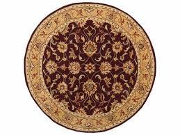 surya caesar round purple area rug