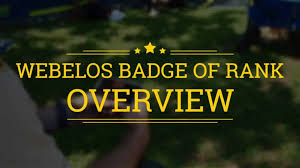 Webelos Attendance Chart Webelos Den Leader Resources Boy Scouts Of America