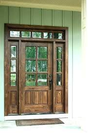 stained glass wooden front doors with stained glass entry wood and door dark sidelights