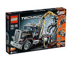 Lego Technic Logging Truck 9397 Ebay
