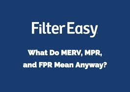 Fpr Rating Chart What Do Merv Mpr And Fpr Mean Anyway