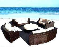 round outdoor couch round sectional outdoor furniture wicker sectional outdoor furniture full size of circular outdoor round outdoor