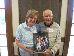 Polly Bradley and Larry Bradley at the Nahant Mass. Memories Road Show -  Mass. Memories Road Show - Open Archives at UMass Boston