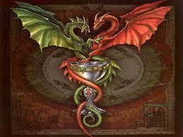 мужские эскизы тату драконы
