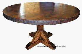 rustic round coffee table rustic solid oak extending dining table within mexican pine round