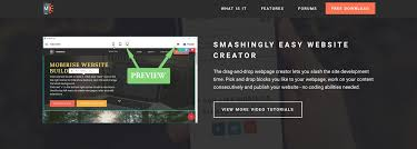 Drag And Drop Easy Website Creator Software