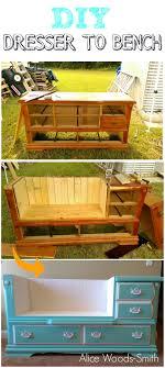 diy repurposed furniture. Repurposed Dresser To Upcycled Bench Tutorial /grillo Designs Www.grillo-designs.com Diy Furniture I