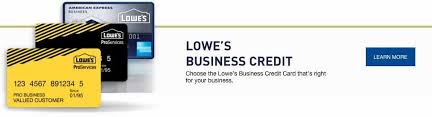 Lowes Commercial Credit Card Application Lowes Business Credit Card Disclosures Lowe S For Pros Condo