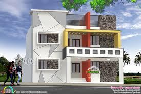 Tamilnadu House Elevation Designs Modern Style 6 Bedroom House In Tamilnadu Kerala Home
