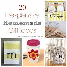 20 Inexpensive Homemade Gift Ideas- perfect for Christmas!