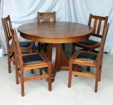 arts and crafts dining table. Stickley Dining Table Mission Oak Antique Set Brothers Arts And Crafts Plans