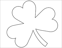 Shamrock fill in the missing numbers printable pin187facebooktweet fill in the missing numbers on the shamrocks. 20 Best Shamrock Templates Free Premium Templates