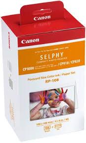Набор <b>картридж</b>+фотобумага <b>Canon RP</b>-<b>108</b>