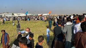 Embassy staff in afghanistan are evacuated to kabul's airport. K8msu1rkvtaxym