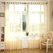 amusing bright yellow sheer curtains fresh and interesting pale y