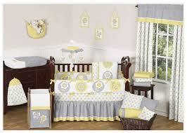 sweet jojo designs mod garden 9 piece crib bedding set